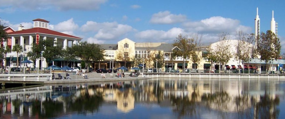 The town of Celebration, Florida